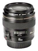 Canon 85mm f1.8 portrait lens.