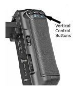 Vertical control buttons on Battery Grip