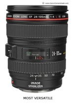 Best Canon EOS Lens- the 24-105mm L F/4