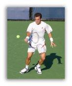 Pro tennis player