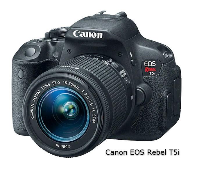 Canon Rebel 5ti DSLR