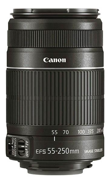 Canon 55-250 wildlife lens