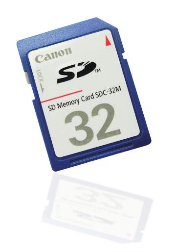 Canon SD memory Card
