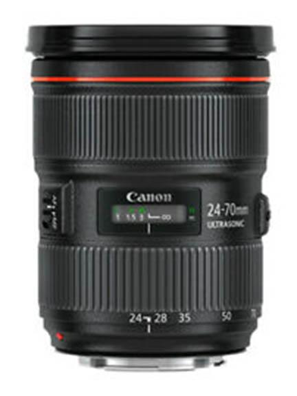 Canon 24-70 f/2.8 lens
