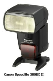 Canon 580EX-II Hot Shoe Flash
