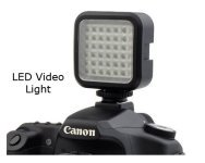 Video Light Accessory for Canon 70D
