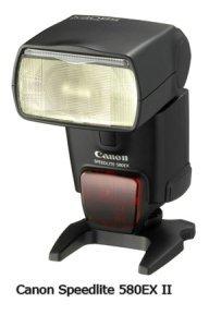 Canon Speedlite 580EX II photo