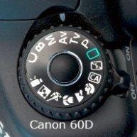 Canon 60D Mode Dial