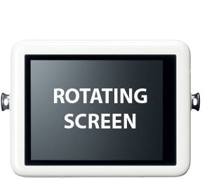 The Powershot N LCD Screen is 2.8 Inches