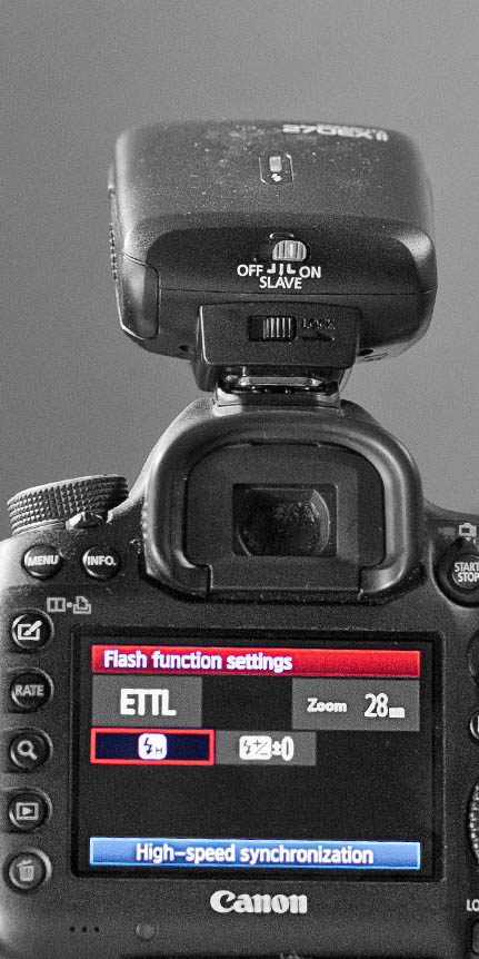 Canon 5D Mark III - Speedlite High Speed Syncronization