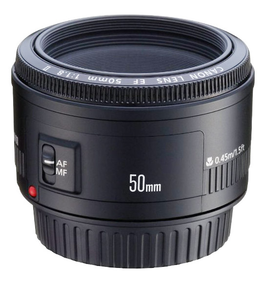 Cheap Canon 50mm f1.8 camera lens