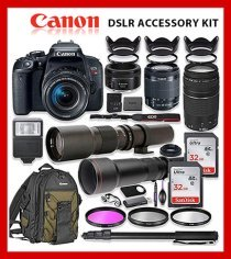 Canon DSLR Camera Accessory Kit