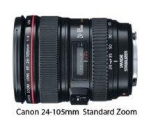 Canon camera standard zoom lens-24-105mm