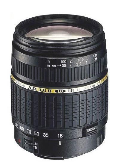 Tamron 18-200mm Macro lens