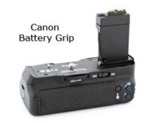 Canon Camera Accessories - Canon Battery Grip - BG-E8