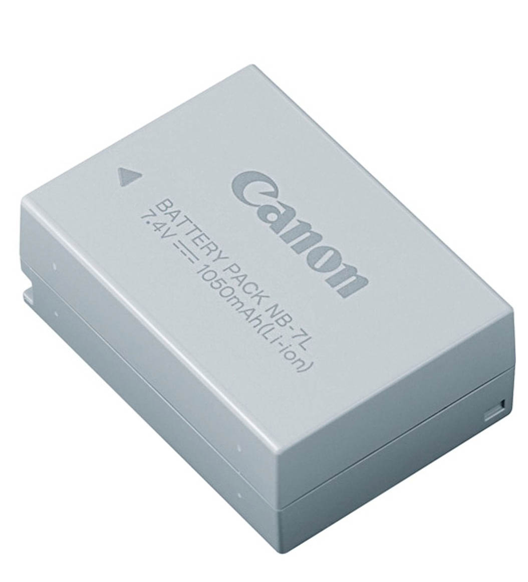 Canon NB-7L battery for Canon G10, G11, and G12 Cameras