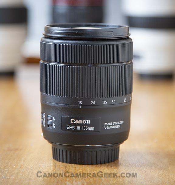 Canon EF-S 18-135mm Kit Lens