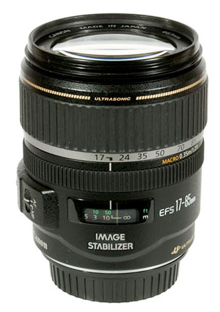 Photograph of a Canon EF-S lens