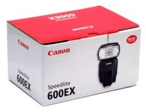 Canon 600EX-RT box