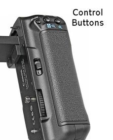 Canon Battery Grip Control Buttons