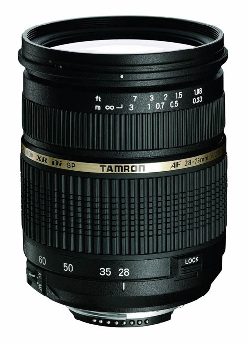 The Tamron 28-75mm f2.8 is an affordable alternative to the Canon lens
