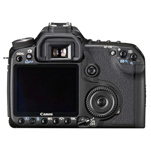 Canon 50D LCD screen