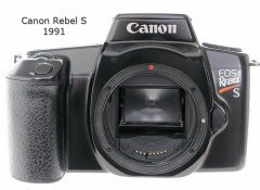 Best Canon Rebel at the time was the Rebel S in 1991