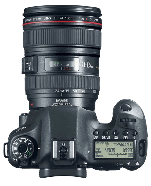 EOS 6D With 24-105 Lens Attached