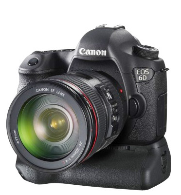 Photo of Canon 6D With Battery Grip Attached