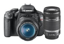 Canon Rebel t3i bundle