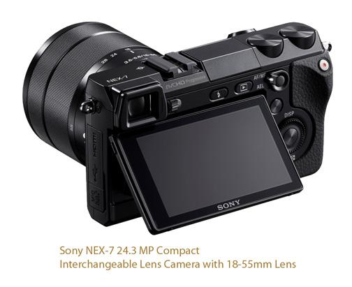 Sony Nex-7 Mirrorless Camera