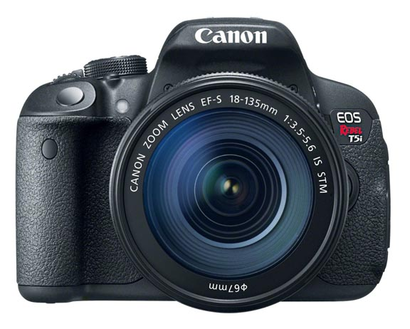 The sophisticated EOS Rebel t5i