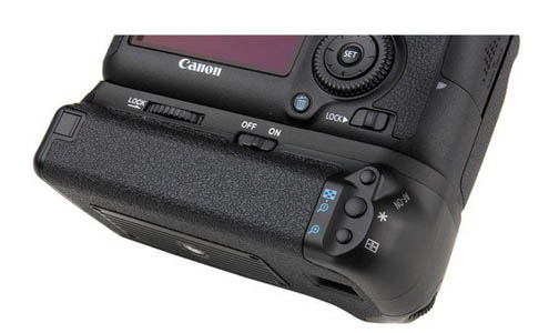 Vello battery grip for Canon camera
