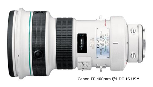 Canon 400mm f/4.0 lens