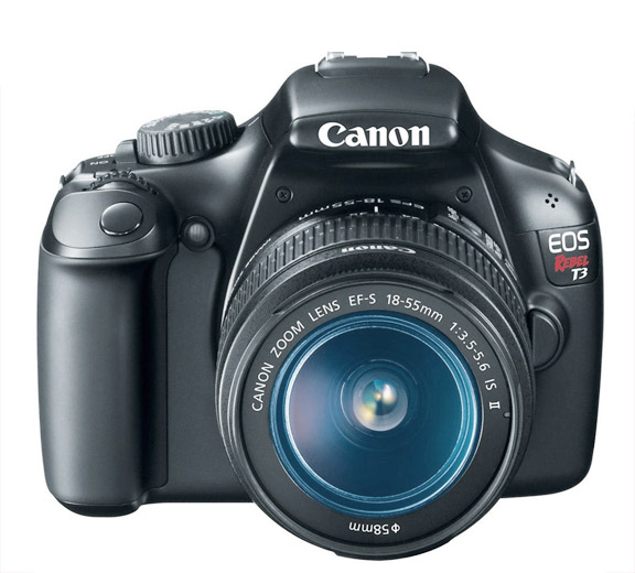 Canon Rebel t3  - Front View