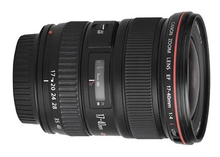 Canon EF 17-40mm Lens