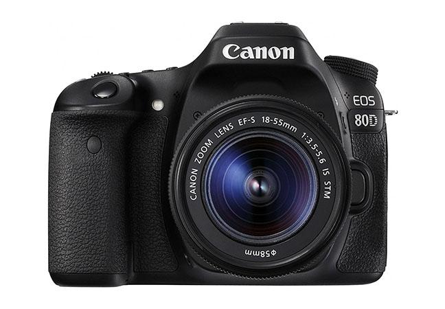 Newest Canon DSLR - EOS 80D