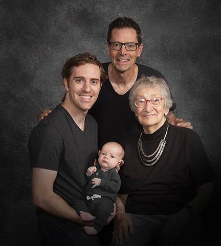 4 generation portrait