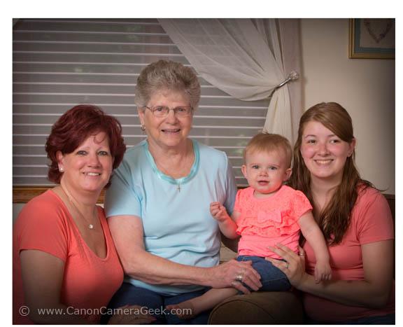 4 generation portrait with 70-200 lens