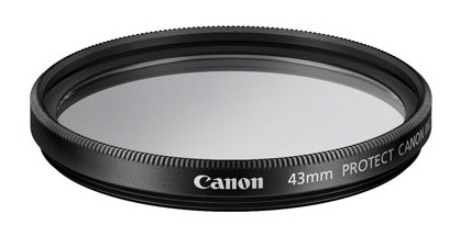 43mm Canon Lens Filter