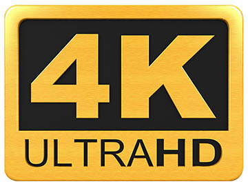 4K Ultra HD Video Logo