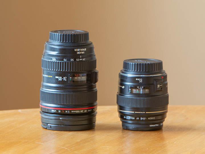 Old Canon Wedding lens