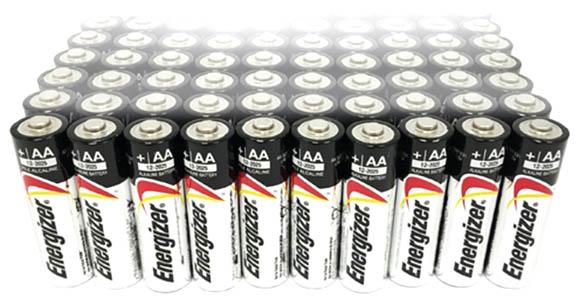 65 AA batteries