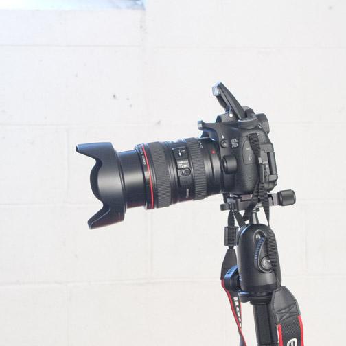 Canon 70D Pop-up Flash