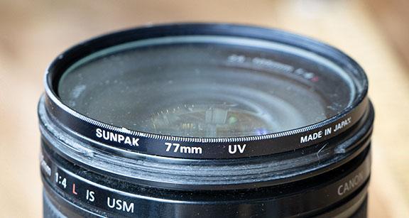 Lens filter for Canon