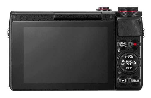 Back View of Canon G7X