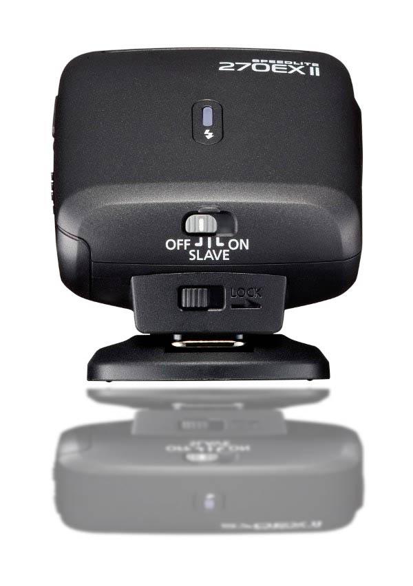 Back View of Canon Speedlite 270EX II