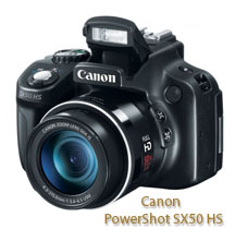 The Canon PowerShot SX50 HS has one of the best zoom ranges.