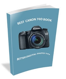 Cover of the Best Canon 70D Book