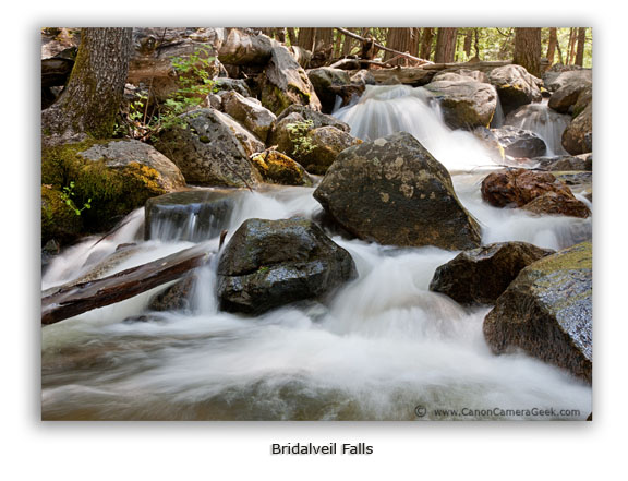 Bridalveil Falls taken with Canon 5d